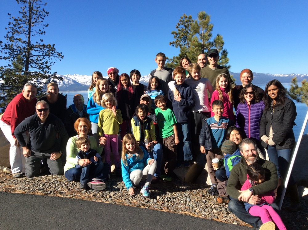 2014 snow trip group